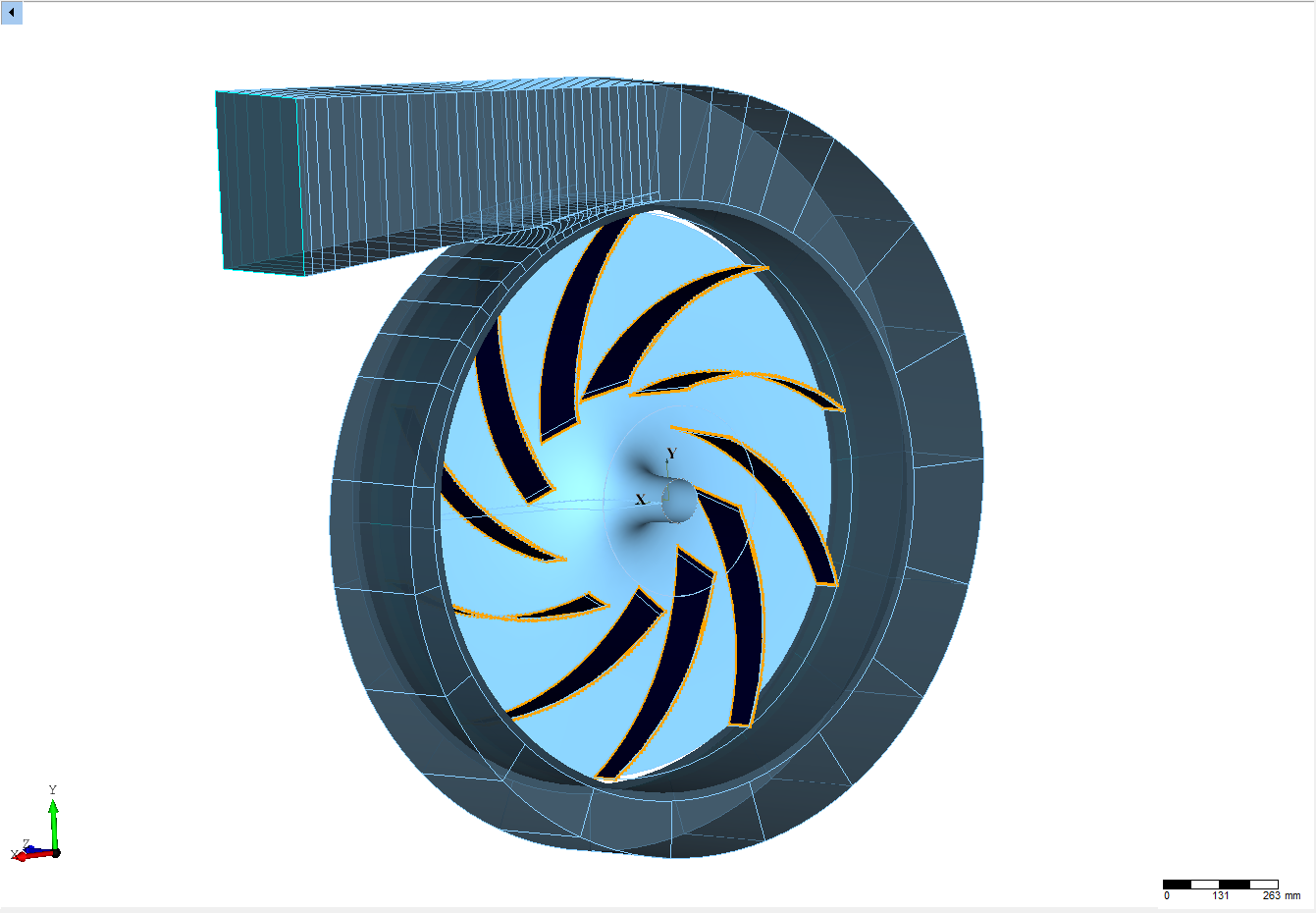 The Turbo Engineers >> Radial Fan CFD Study