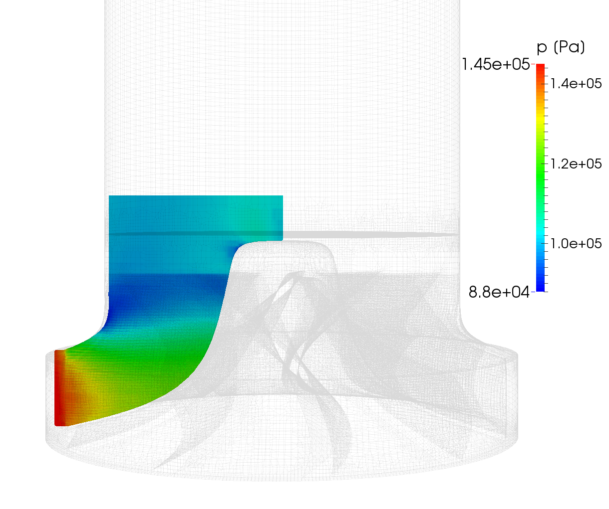 CFturbo-TurbomachineryCFD-radial-turbine-impeller-pressure-2-meridional-average