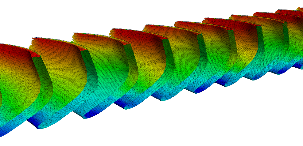 CFturbo-TurbomachineryCFD-radial-turbine-unwrapped-pressure