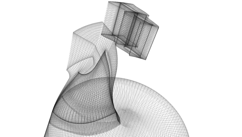 TCFD-Francis-Turbine-Mesh-Msh-format-white