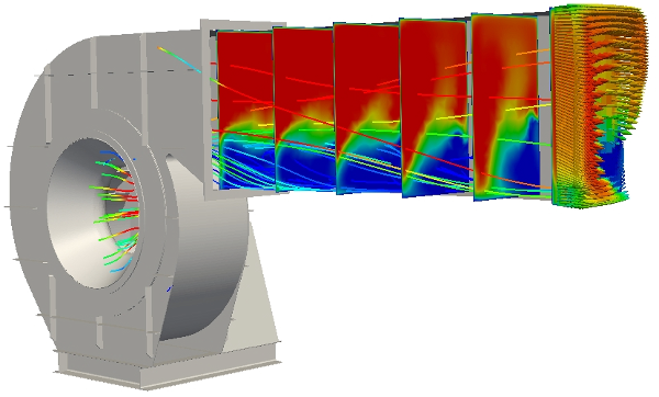 Industrial Fan OpenFOAM® Study